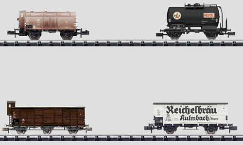 Trix 15418 - German Freight Car Set of the DB