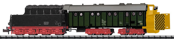 Trix 15422 - German Henschel Design Steam-Powered Rotary Snowplow of the DB