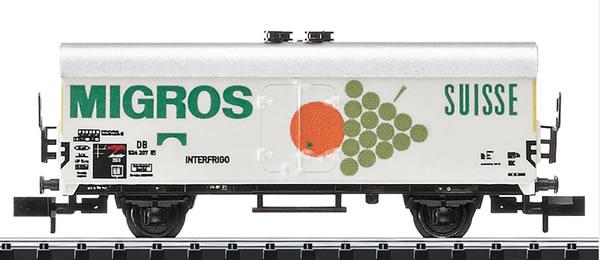 Trix 15440 - DB MIGROS Refrigerator Car