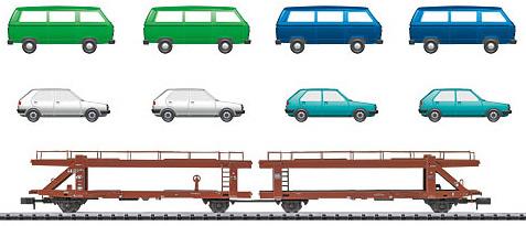 Trix 15441 - German Car Transporters of the DB