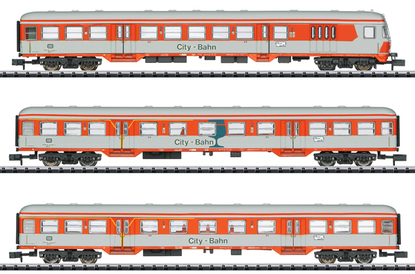 Trix 15474 - DB City Bahn Car Set, Era IV