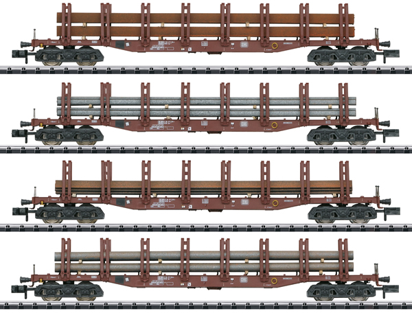 "Trix 15484 - ""Steel Transport"" Freight Car Set"