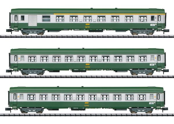 Trix 15502 - SNCF Nizza – Paris Express Train Passenger Car Set