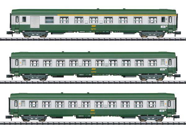Trix 15502 - SNCF Nizza – Paris Express Train Passenger Car Set