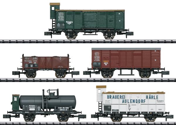 Trix 15534 - German Freight Car-Set of the W.St.E.