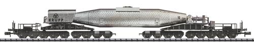 Trix 15553 - German Torpedo Ladle Car of the Krupp Steel Works