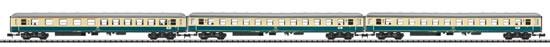 Trix 15639 - 3pc Passenger Car Set D796