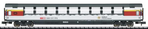 Trix 15674 - SBB Gotthard Panorama Express (GoPEx) Passenger Car Set