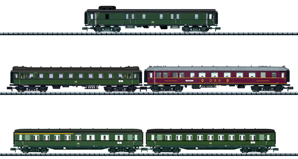 Trix 15680 - 5pc Express Train Passenger Set