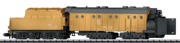 Trix 15820 - German Henschel Steam-Powered Rotary Snowplow of the DR