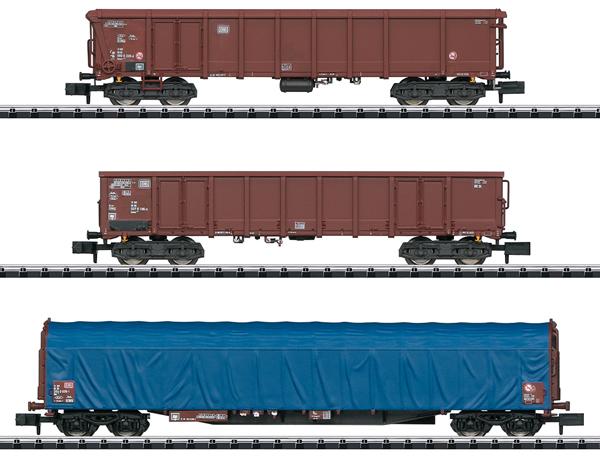 Trix 15869 - Freight Car Set Modern German Federal Railways