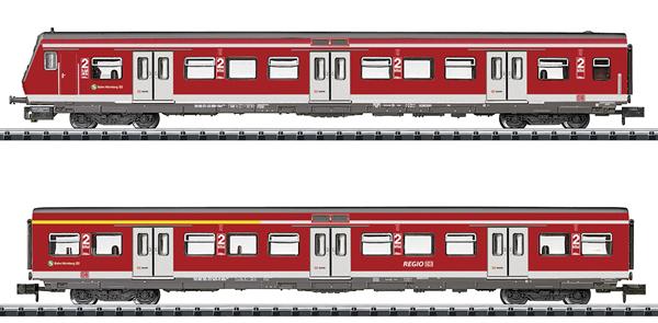 Trix 15890 - Dgtl DB AG Nürnberg S-Bahn Passenger Car Set