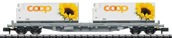 Trix 15937 - SBB Flat Car with Containers