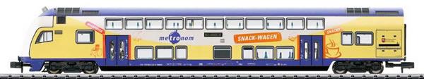 Trix 15944 - Digital Metronom Bi-Level Cab Control Car w/Built-in LED Lighting DCC/Sx