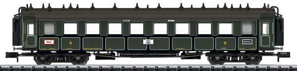 Trix 15970 - K.Bay.Sts.B. Bavarian Express Train Passenger Car, 3rd Class