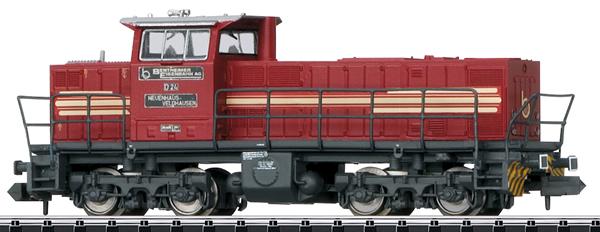 Trix 16061 - German  Diesel Locomotive MaK Type DE 1002 of the Bentheim Railroad