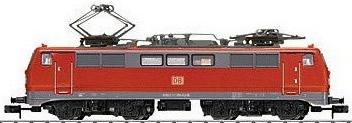 Trix 16111 - German Electric Locomotive Class 111 of the DB AG