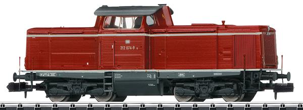 Trix 16122 - German Diesel Locomotive Class 212 of the DB