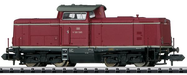 Trix 16125 - German Diesel Locomotive Class V 100.10 of the DB (Sound)