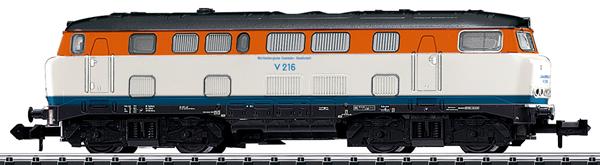 Trix 16164 - German Diesel Locomotive Class V 160 of the DB