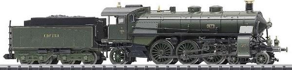 Trix 16183 - German Steam Locomotive BR S 3/6 of the K.Bay.Sts.B, (DCC Sound Decoder)