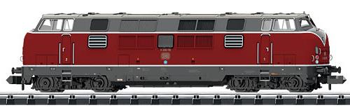 Trix 16201 - German Diesel Locomotive Series 200.1 of the DB (DCC Sound Decoder)