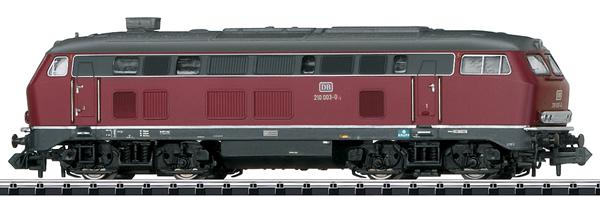 Trix 16210 - German Diesel Locomotive class 210 of the DB (Sound) - INSIDER MODEL