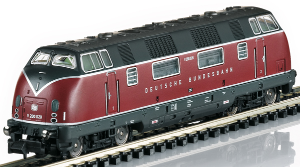 Trix 16224 - Germana Diesel Locomotive Class V 200 of the DB (Sound) - MHI Exclusiv