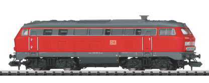 Trix 16252 - German Diesel Locomotive BR 225 of the DB AG, Sound