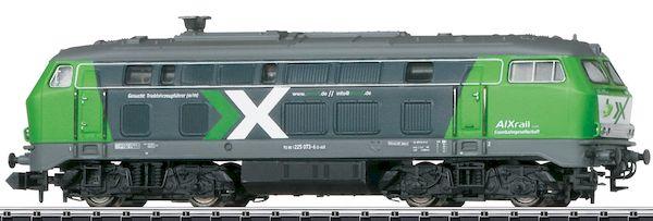 Trix 16253 - German Diesel Locomotive Class 225 of the AIXrail