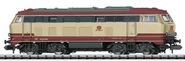 Trix 16273 - Diesel Locomotive Road Number 217 001-7 of the DB AG (DCC Sound Decoder)
