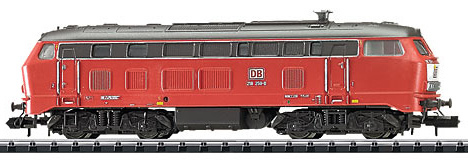 Trix 16283 - German Diesel Locomotive Series 218 of the DB AG