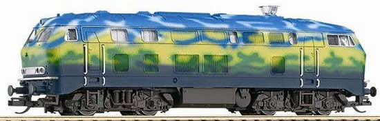 Trix 16285 - German Diesel Locomotive Class 218 of the DB AG (DCC Decoder) Tourism Paint Scheme