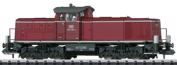 Trix 16297 - German Diesel Locomotive Class 290 of the DB (Sound) -MHI Exclusive