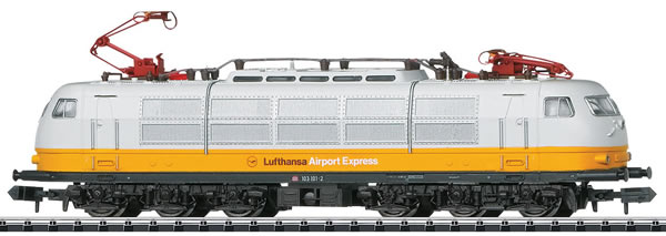 Trix 16303 - German Electric Locomotive Class 103.1 Lufthansa of the DB (DCC Sound Decoder) - MHI Exclusive