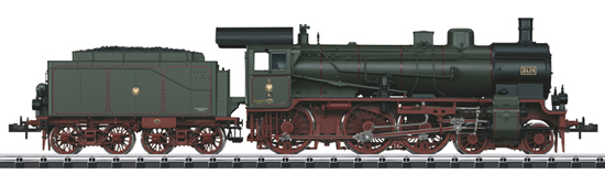 Trix 16381 - Royal Prussian Steam Locomotive Cl P8 w/Tender of the KPEV (Sound Decoder)