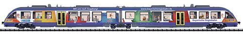 Trix 16481 - German Diesel Commuter DMUs LINT