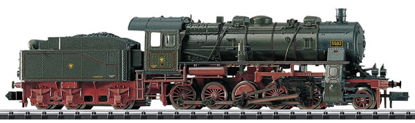 Trix 16582 - Royal Prussian Steam Freight Locomotive Class G12 w/Tender of the KPEV