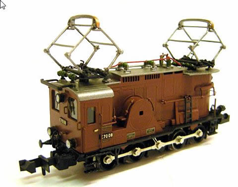 Trix 16672 - Dgtl FINE ART DRG cl E 70 08 Electric Locomotive