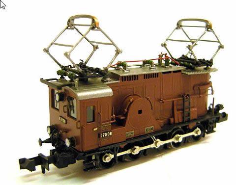 Trix 16672 - Dgtl FINE ART DRG cl E 70 08 Electric Locomotive