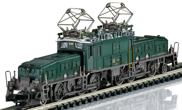 Trix 16681 - Electric Locomotive Crocodile cl Ce 6/8 III (Sound)