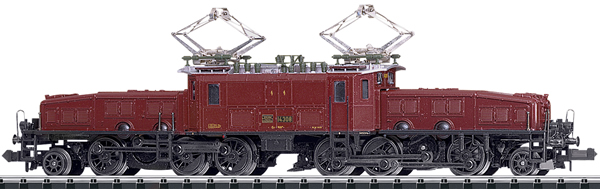 Trix 16682 - Swiss Crocodile Electric Locomotive Class Ce 6/8 III of the SBB