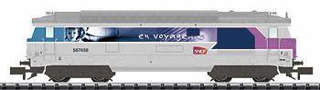 Trix 16702 - SNCF cl BB 67400 En Voyage Diesel Locomotive