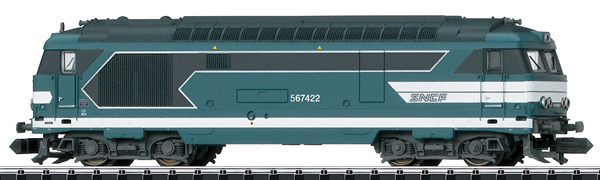 Trix 16705 - French Diesel Locomotive Serie 67400 of the SNCF