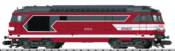 Trix 16706 - French Diesel Locomotive BB 67400 of the SNCF