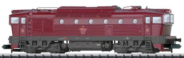 Trix 16731 - Czechoslovakian Diesel Locomotive T478.3 of the CSD, Sound