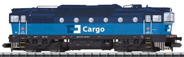 Trix 16732 - Czech Diesel Locomotive Rh 750 of the CD, Sound