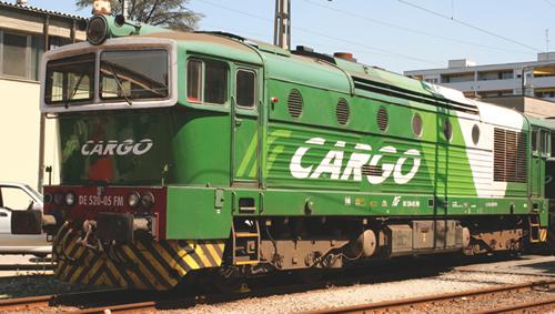 Trix 16734 - Italian Diesel Locomotive DE 520 of the FNM