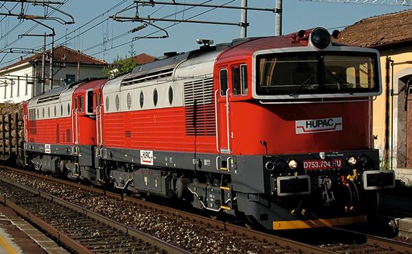 Trix 16737 - Swiss Diesel Locomotive class D753 HUPAC of the SBB (DCC Sound Decoder)