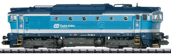 Trix 16738 - Czech Diesel Locomotive Class 754 of the CD (Sound)